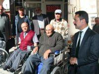 Gurbetçilerden Nevşehir'e 25 tekerlekli sandalye