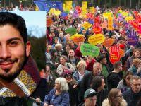Ali Can'ın çağrısıyla on binler toplandı