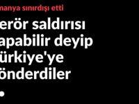 Radikal İslamcı Türk'e sınır dışı