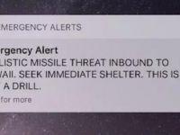 Nükleer füze alarmı korkuttu