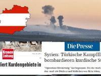 Avusturya basını: Suriye Kürtleri bombalanıyor