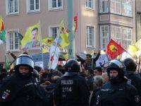 Öcalan'a destek için kendini ateşe verdi