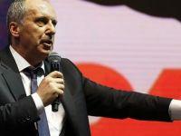 "Muharrem İnce ""komplo"" dedi, CHP Genel Merkezini işaret etti"