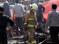 İran'da yolcu uçağı düştü: Kurtulan yok