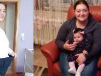 Gurbetçi anne kızı için 55 kilo verdi