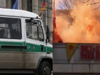PKK yandaşları SPD binasını işgal etti