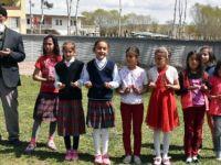İlkokul öğrencileriyle yağmur duası