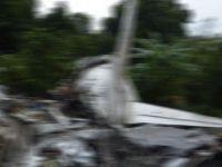 Ukrayna'da savaş uçağı düştü