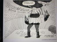 Netanyahu'yu çizdi diye kovuldu