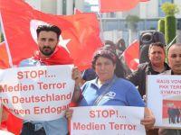 Almanya'da Erdoğan protestosu
