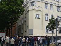 Avusturya'daki Türk camisinde bayram namazı