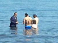 Milletvekili adayı denizdekilerden oy istedi