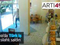 Türk iş yerini kurşunlayan yakalandı