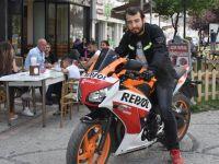 Bedelli için motorsikletini satışa çıkardı