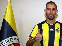 Fenerbahçe'de Slimani imzayı att