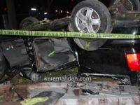 Gurbetçi aile kaza yaptı: 1 ölü, 3 yaralı