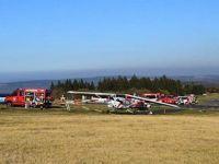 Almanya'da uçak yayaların arasına daldı: 3 ölü