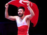 Süleyman Atlı bronz madalya kazandı