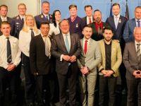 Almanya'da 4 Türk'e 'Kahramanlık Madalyası'