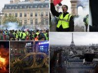 Fransa'da cumartesi bilançosu: 974 gözaltı, 235 yaralı