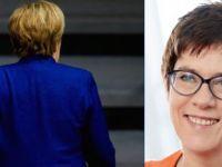 CDU'nun yeni lideri Kramp-Karrenbauer