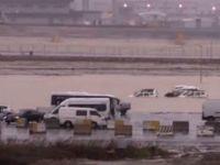 Yeni İstanbul Havalimanı'nı su bastı