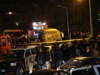 Mısır'da turist otobüsüne saldırı