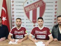 2 gurbetçi futbolcu imza attı