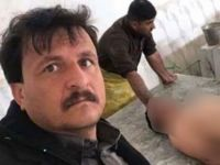 Ölüyle selfie çeken mezarcının başı dertte