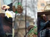 Almanya'da Türk gençler evsizlere çorba dağıttı