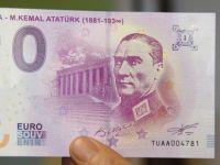 Avrupa Merkez Bankası Atatürk portreli avro bastı