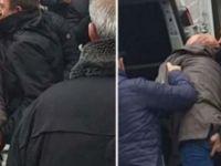 Eylemci öğrenciye polis tacizi