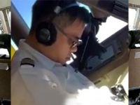 Yolcu uçağı pilotu uçuş sırasında uyuyakaldı