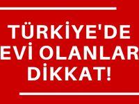 Türkiye'deki gelirlerin vergisini unutmayın