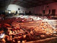 Kilise duvarı çöktü: 13 ölü
