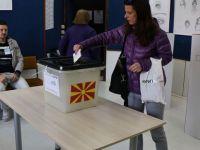 Kuzey Makedonya sandık başında