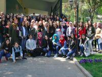Gurbetçi öğrencilerden Türkiye çıkarması