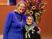 82 yaşındaki Türk'e kraliyet nişanı