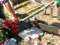 Müslüman mezarları tahrip edildi