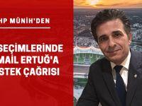 CHP'den İsmail Ertuğ'a destek