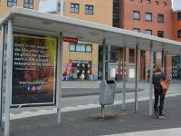 Hollanda'da otobüs duraklarına hadis-i şerif asıldı