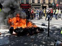 Sarı Yelekliler 30. haftasında yine sokaklarda