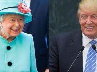 Trump: Kraliçe Elizabeth ile çok eğlendik