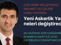Mehmet Ali Çelebi canlı yayında
