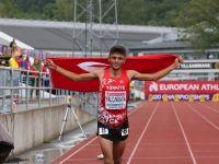Darıcalı atlet Avrupa şampiyonu oldu