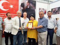 Zonguldak'ta gurbetçilere plaket verildi