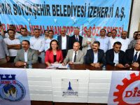 İzmir'de belediye çalışanlarına yüzde 72 zam