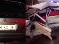 Gurbetçi aile kavşakta çarpıştı: 1'i ağır 5 yaralı
