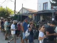 Yunan adasında binlerce kişi mahsur kaldı