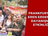 Frankfurt'ta Eren Erdem'le dayanışma